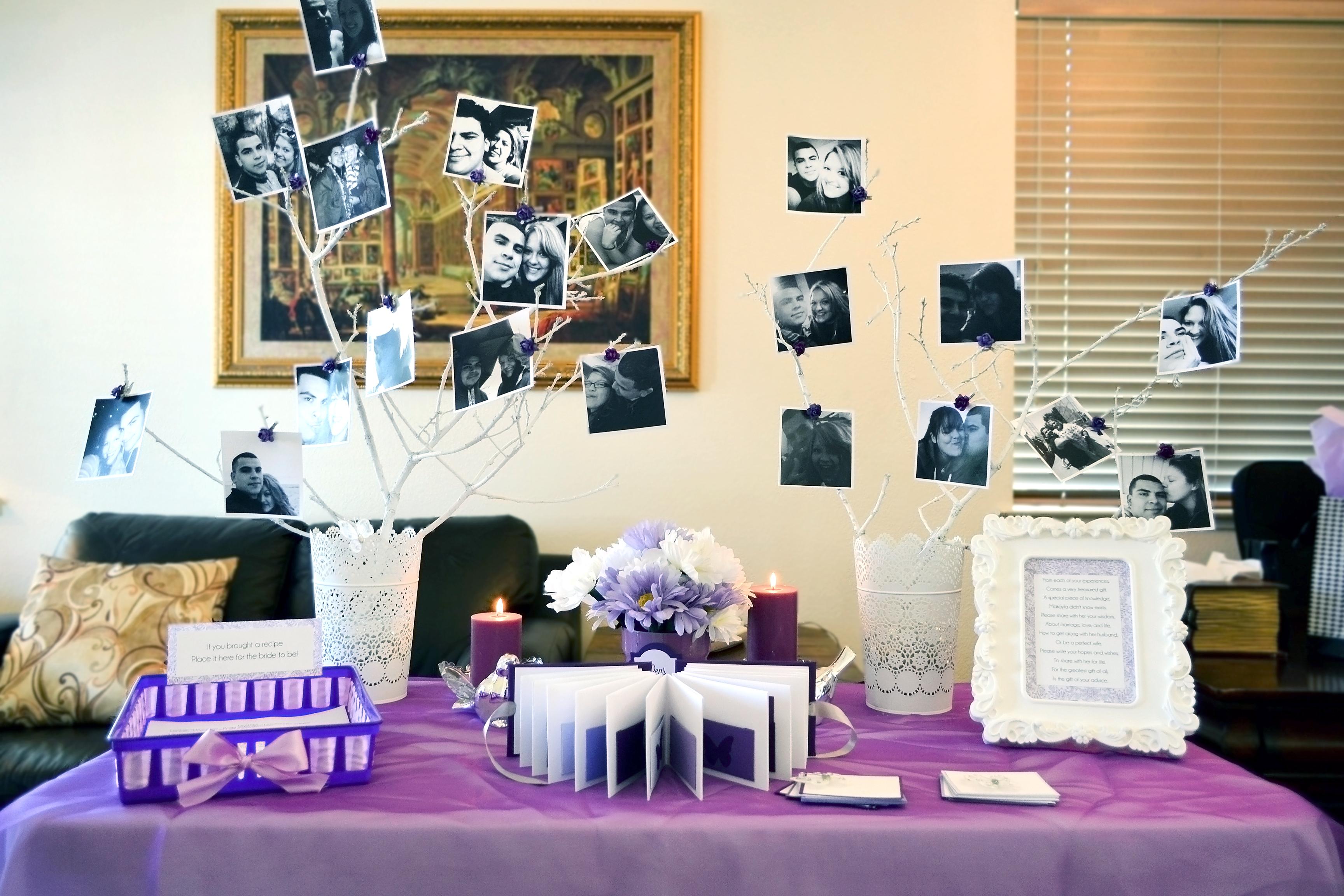 Pretty Purple Bridal Shower
