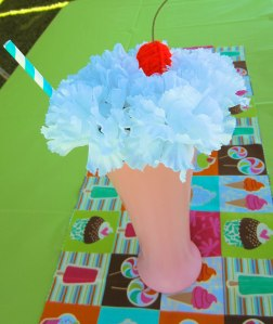 milkshake flower from qute hoots
