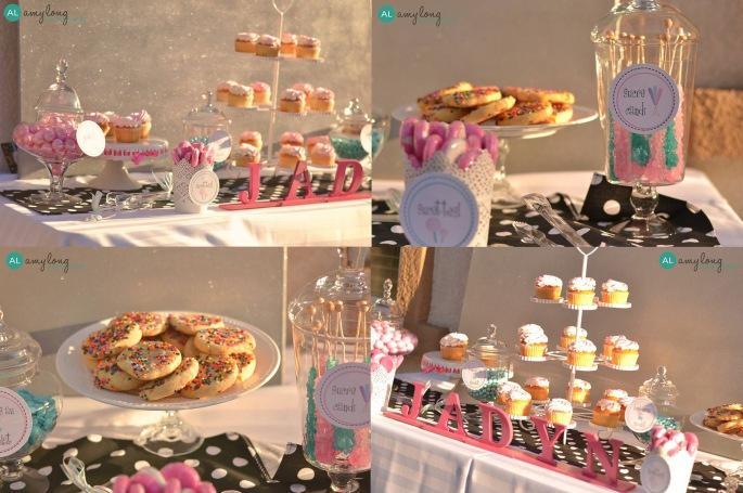 Parisian tea party desserts