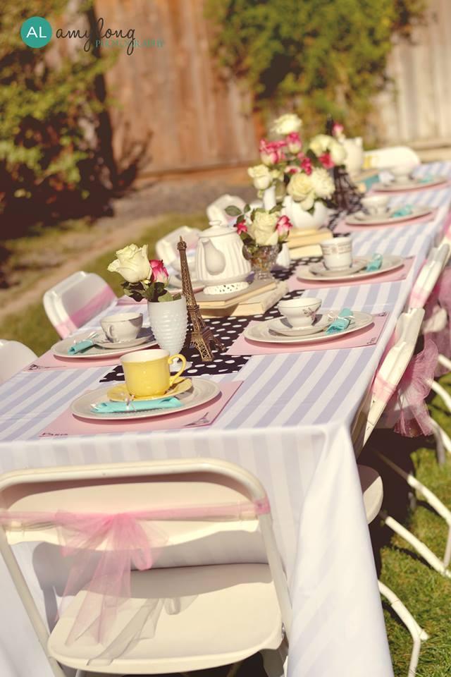 Tea Party Table Settings Ideas : Photos courtesy of Amy Long Photography