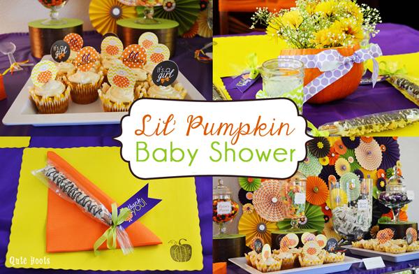 Lil Pumpkin Baby Shower