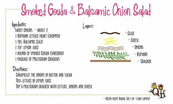 Smoked Gouda & Balsamic Onion Salad
