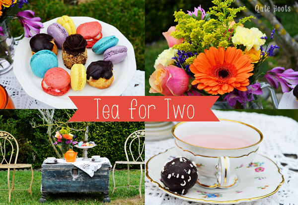 tea for two downton abbey party