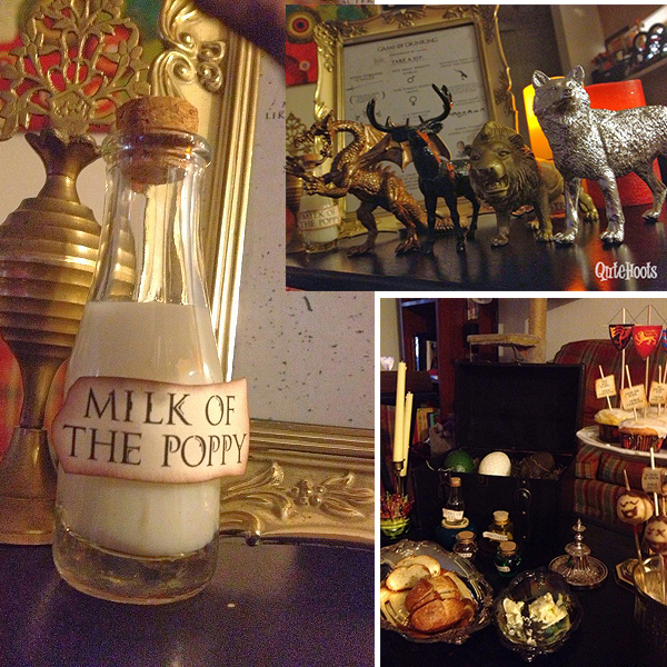 Birthday Party Game Ideas: Game Of Thrones Party
