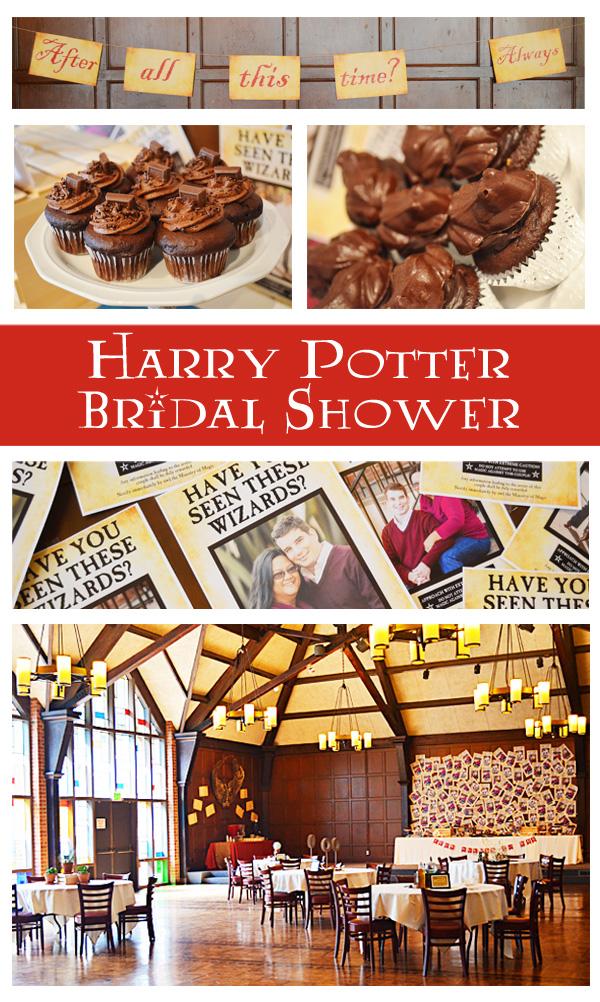 harry potter bridal shower