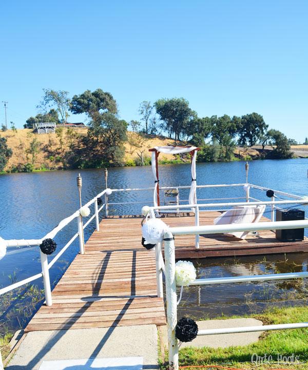 wedding dock