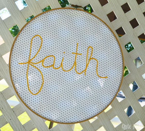 faith hoop