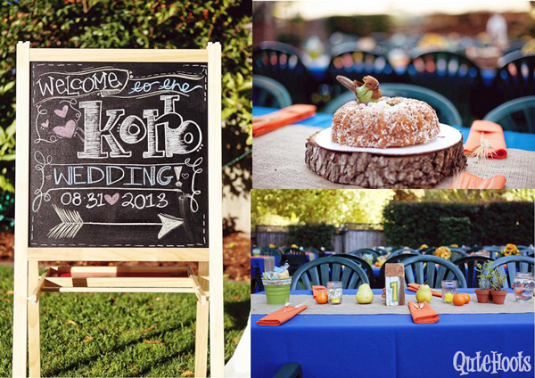 Wedding cakes and Table Decor