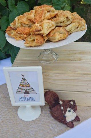 woodland tribal desserts