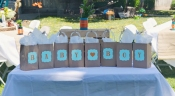 tribal woodland baby shower games