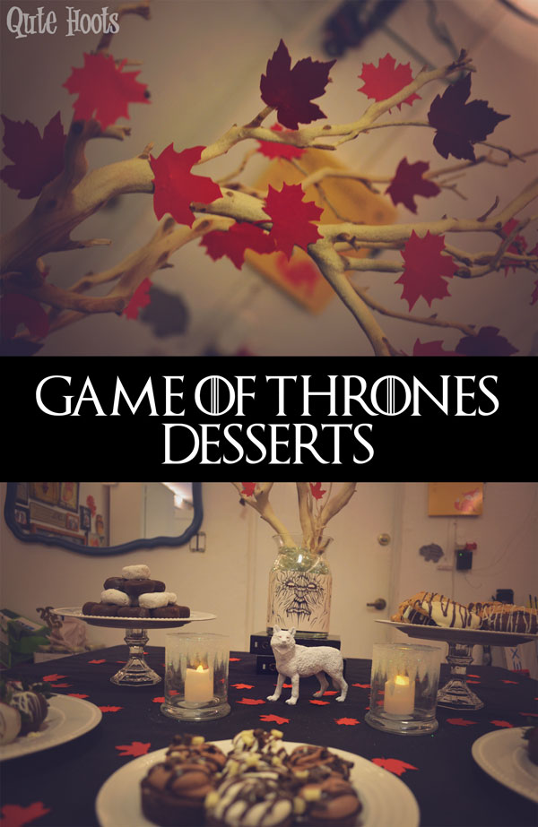 Game of Thrones Dessert table