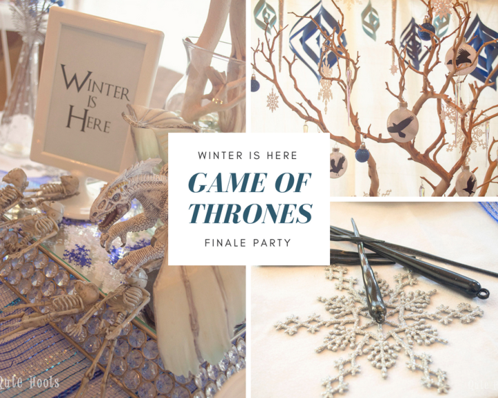 Game of thrones winter finale party